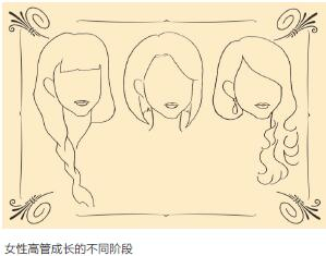 女性高管成长的不同阶段